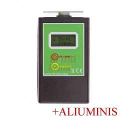 Skaitmeninis dažų storio matuoklis / dažų storio testeris PT2 + Aliuminio matavimo funkcija